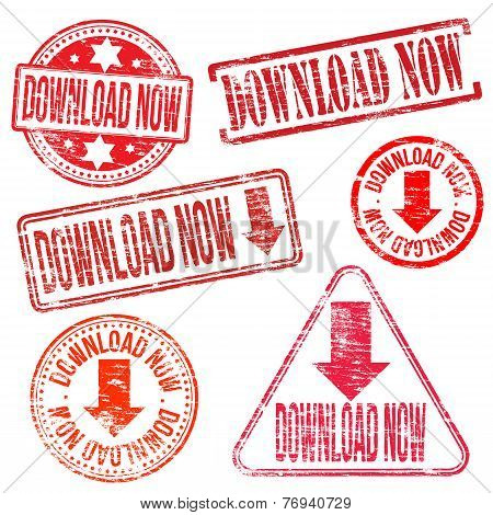 Download Now Stamps