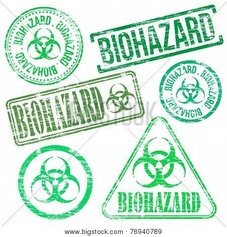 Biohazard Stamps