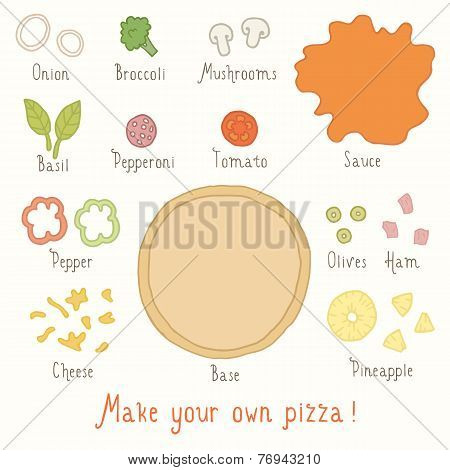 Make you own pizza set.