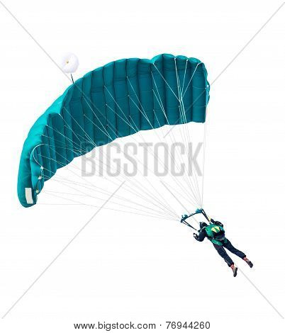Man The Parachutist Flies