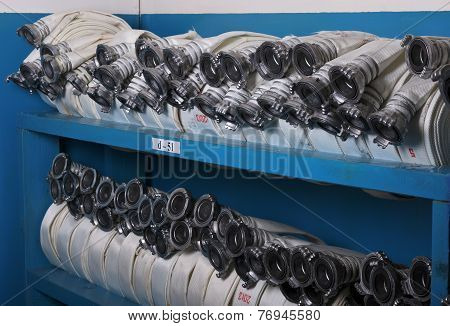 Storage Of Fire Hoses