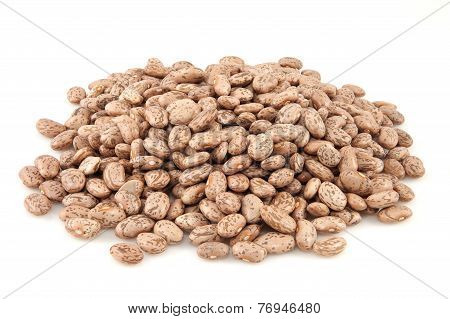 Pile of brown Beans