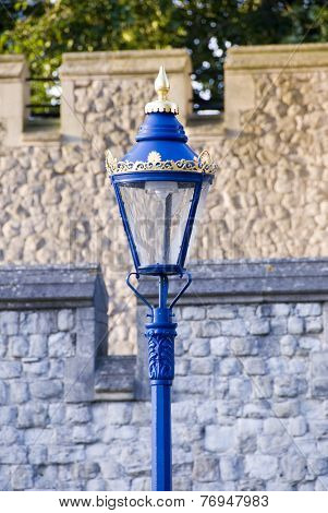 Lamp Post at The Tower of London, UK