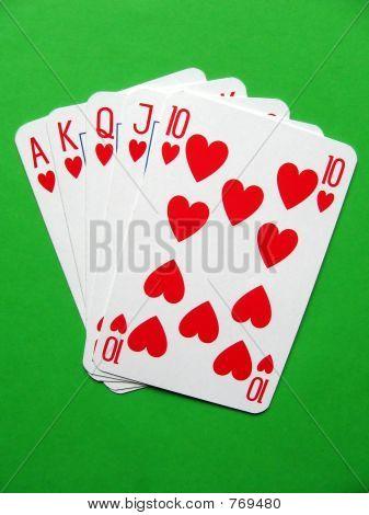 hearts royal poker