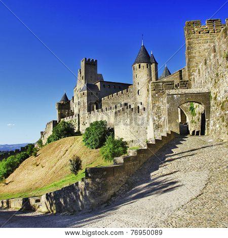 medieval castle of France - Carcassonne