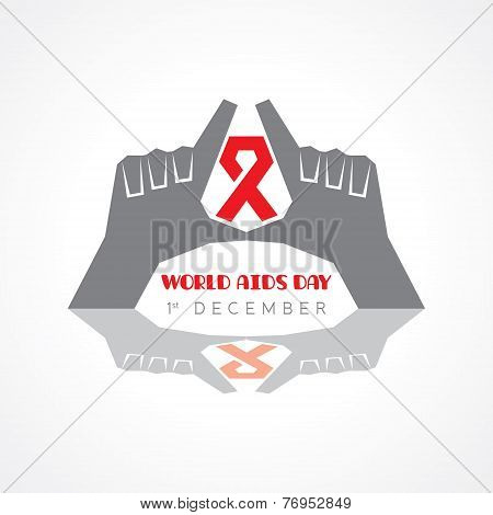 World Aids Day - HIV awareness concept