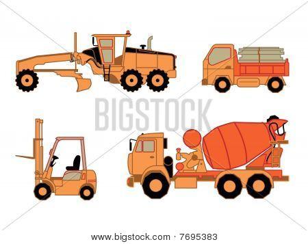 Construction cars   Set 2