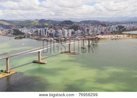 Third bridge Vitoria Vila Velha, state Espirito Santo Brazil