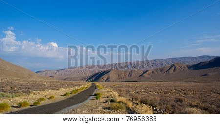 Road Into Desert Wilderness