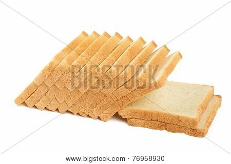 White Bread For Toasts
