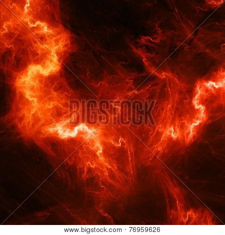 Red High Energy Lightening