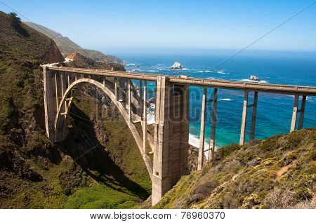 Bixby Bridge, California USA