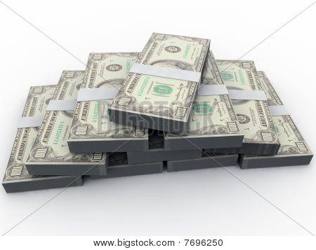 3D Dollars
