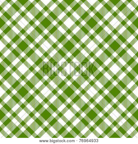 Checkered Tablecloths Pattern Green - Endlessly