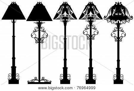 Stand Lamp Set