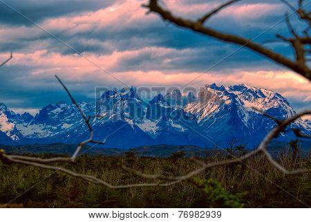 Torres Del Paine Evening