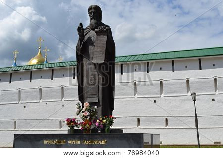 monument to Sergey of Radonezh