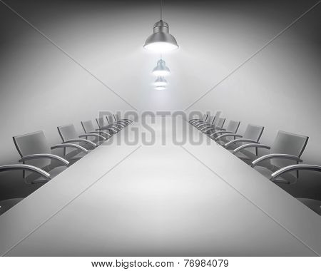 Conference. Vector illustration.