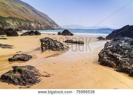 Keem Beach on Achill Island in Co. Mayo, Irleland