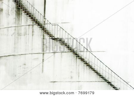 detail of an industrial plant with stairs