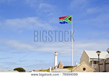 Large South African Flag