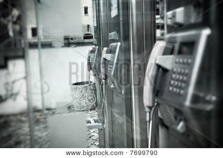 Public Call Box