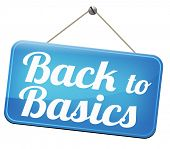 stock photo of primitive  - Back to basics to the beginning keep it simple and basic primitive simplicity  - JPG