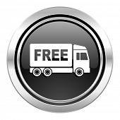 pic of free-trade  - free delivery icon - JPG