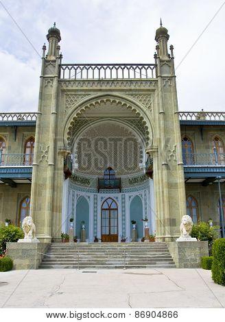 Crimea, Vorontcovskiy Palace