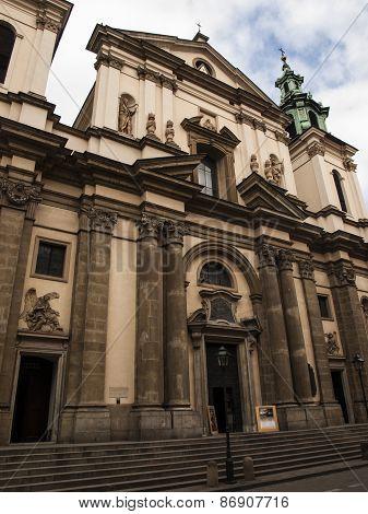 Church Of St. Anne, Krkow, Poland