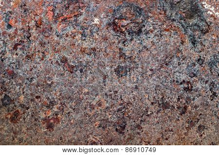 Oxidized Metal Surface