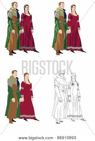 Gothic formal dress