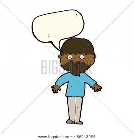 cartoon man shrugging