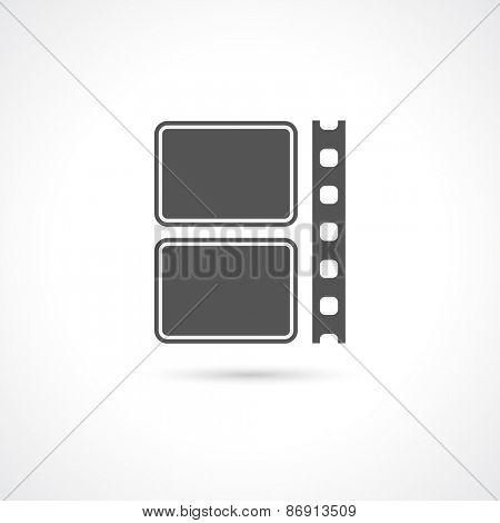 film strip icon - design element