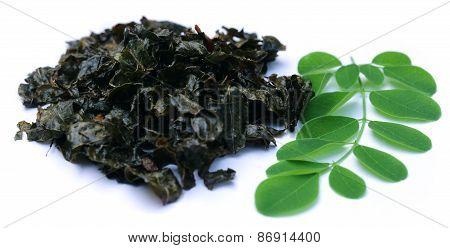 Fried Moringa Leaves
