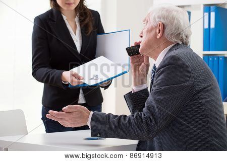 Woman During First Job Interview