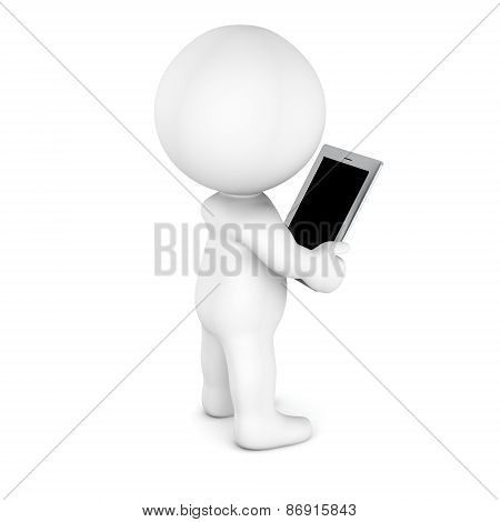 3D Character Reading from Generic Tablet - blank screen