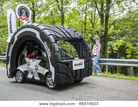 Kleber Vehicle In Vosges Mountains