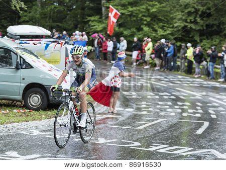 The Cyclist Christian Meier
