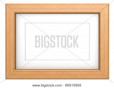 Teak Picture Frame.