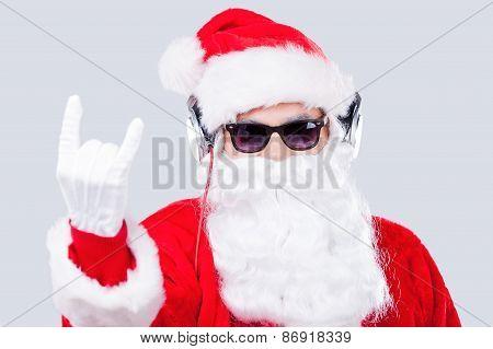 Cool Santa.