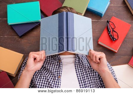 Tired Bookworm.