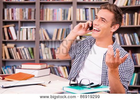 Good Talk With Friend.