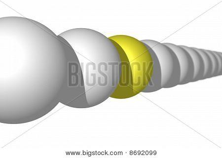 Line Of Balls