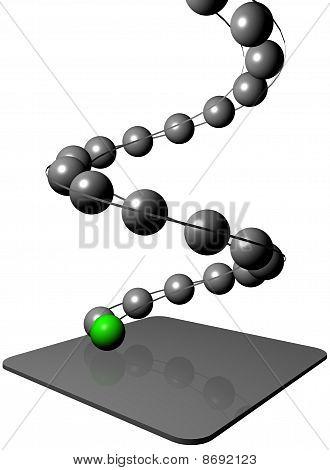 Balls On Helix