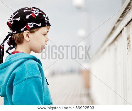 Rowdy Boy On A Pier