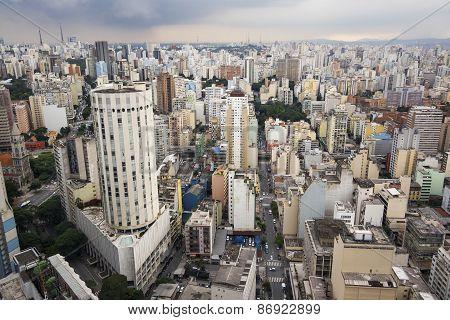 Sao Paulo Cityscape, Brazil