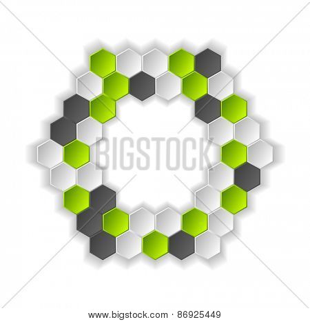Abstract hi-tech background. Vector design