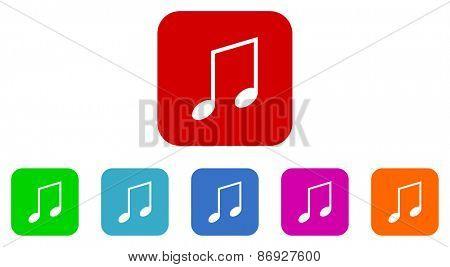 tone vector icons set