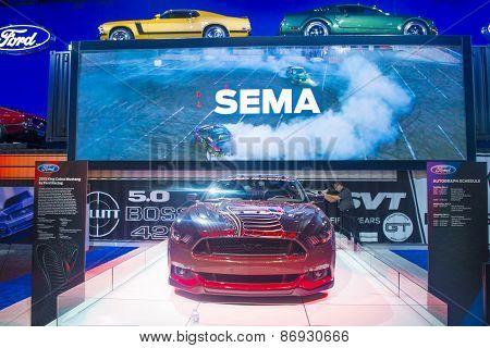 Sema Car Show 2014
